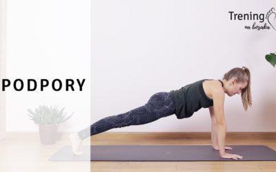 Jak zrobić plank, czyli co nieco o podporze