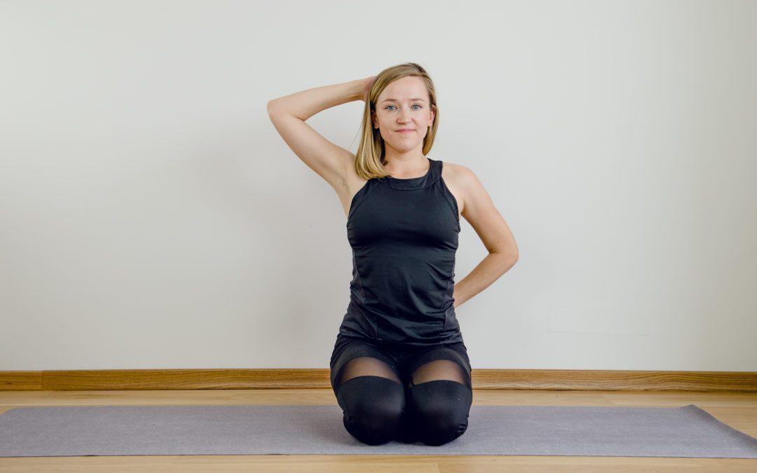 3 ćwiczenia na plecy okrągłe